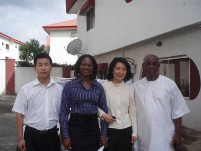 威特斯技术人员赴尼日利亚安装调试设备小记