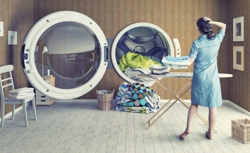 青岛开干洗店一年赚多少钱